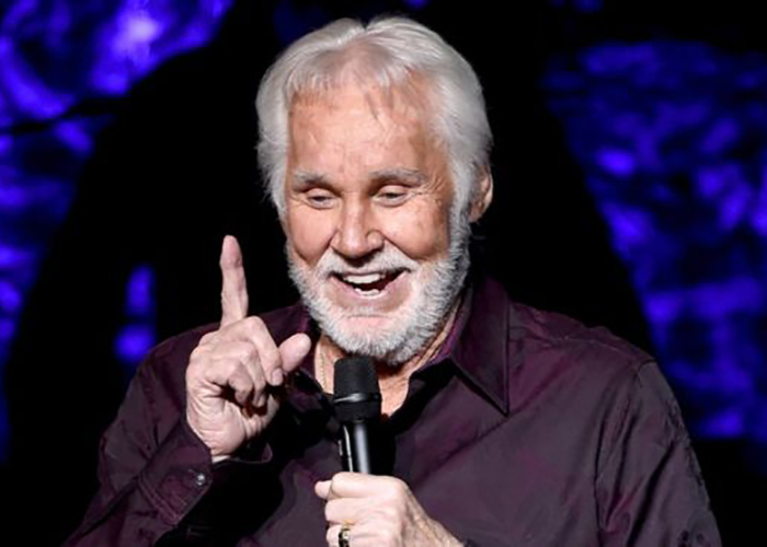 Music: Kenny Rogers Prepares to Hang up His Microphone (BBC)